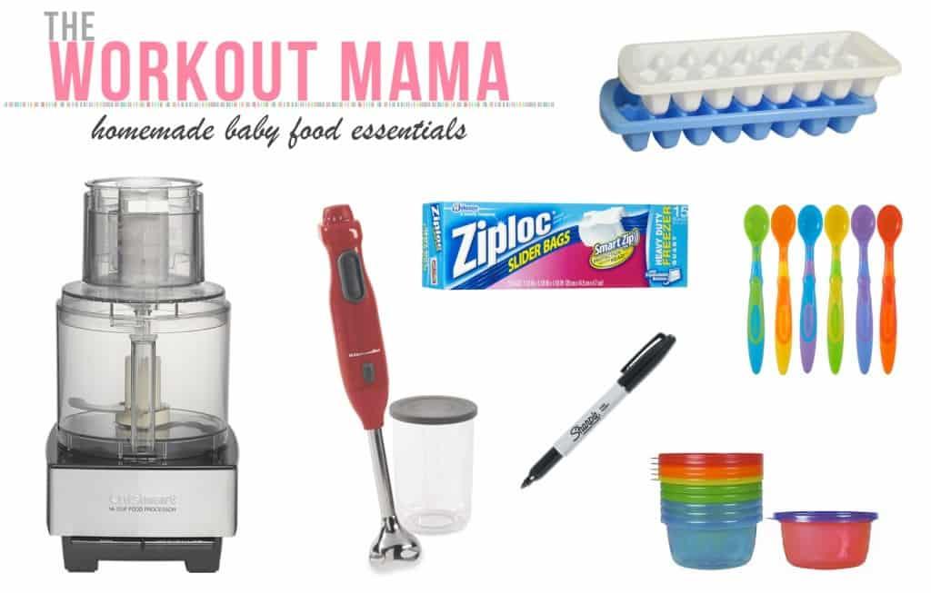 Homemade Baby Food Essentials