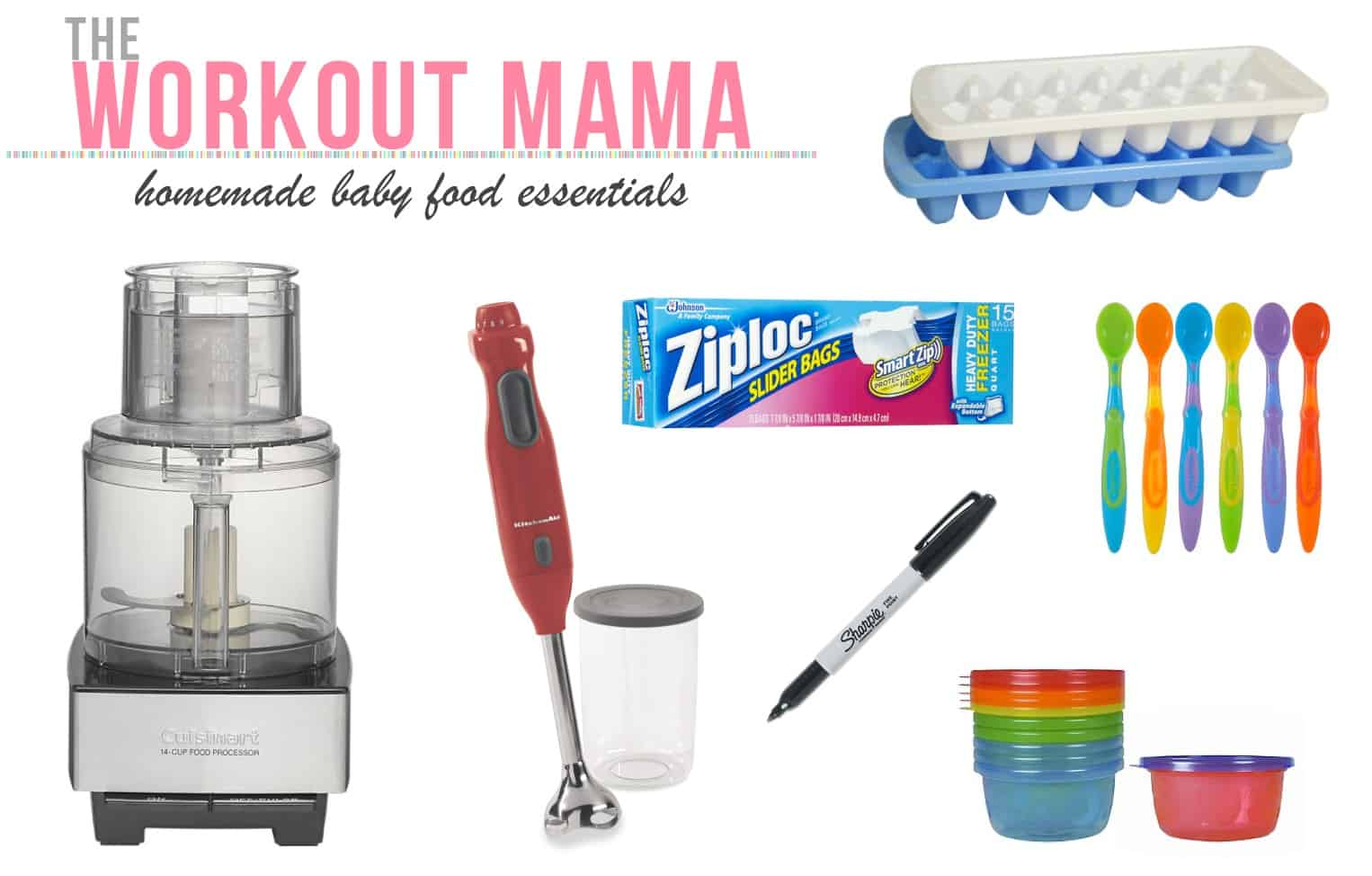 homemade baby food essentials the workout mama