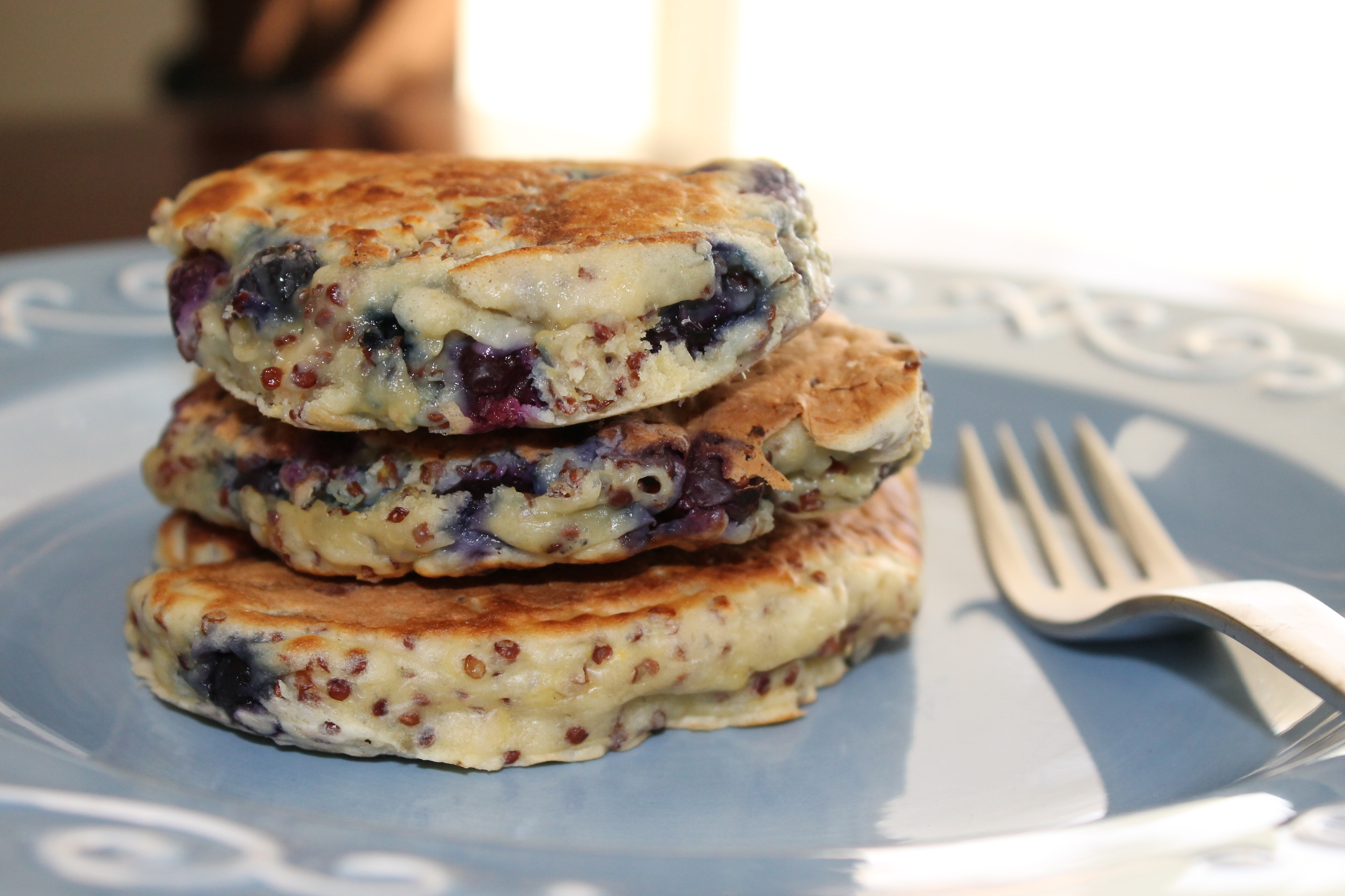 Oh pancakes! I love you so much! You are fluffy, sweet, and I adore ...