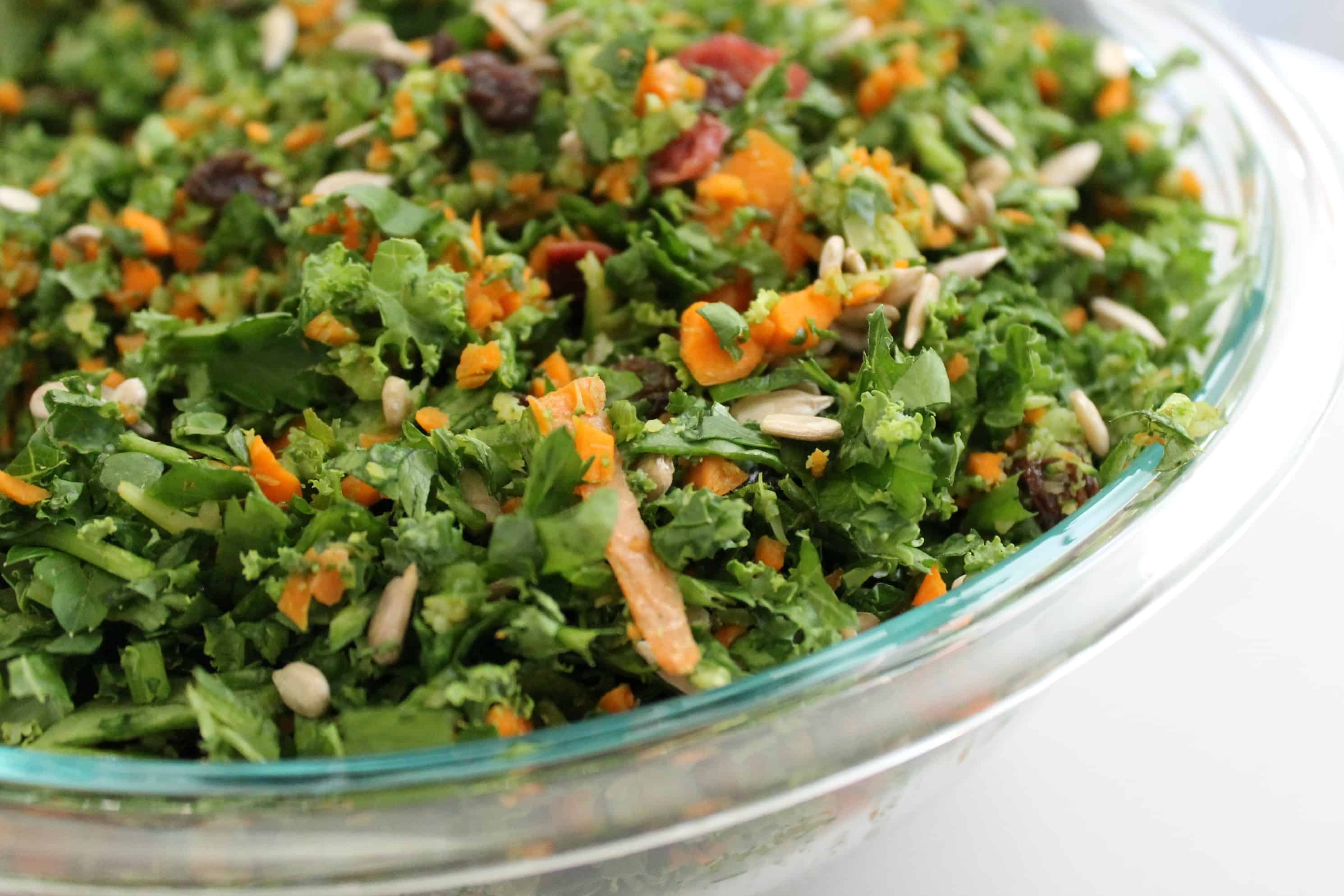 Detox Salad from The Workout Mama
