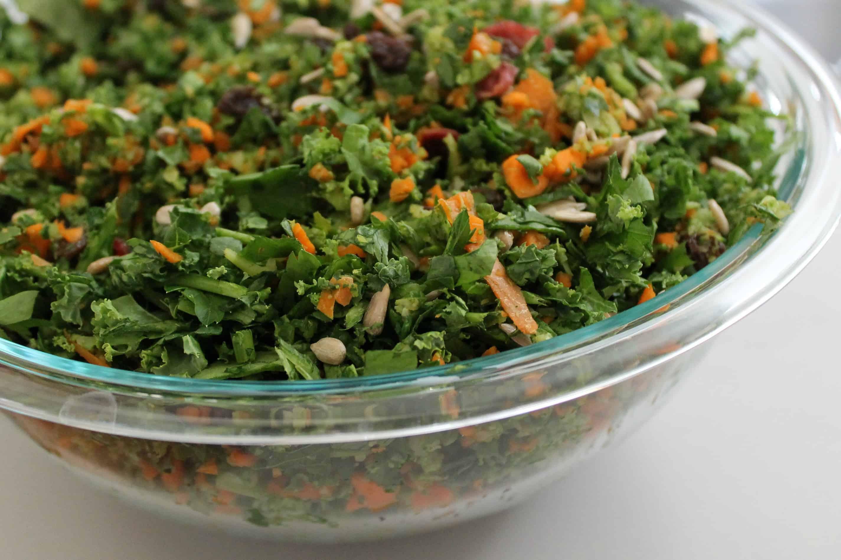 Detox Salad - The Workout Mama