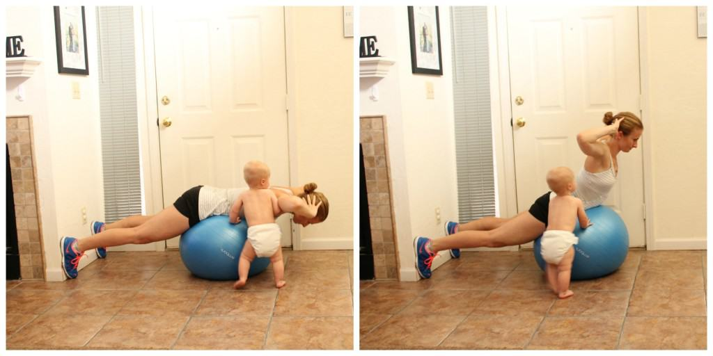 Stability Ball Back Extensions