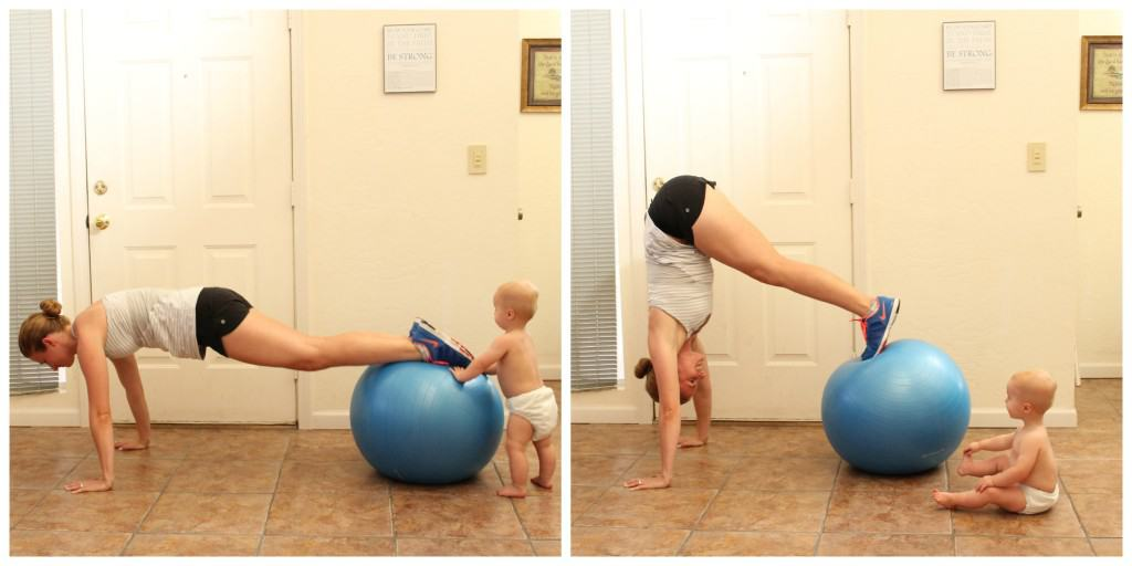 Stability Ball Pikes