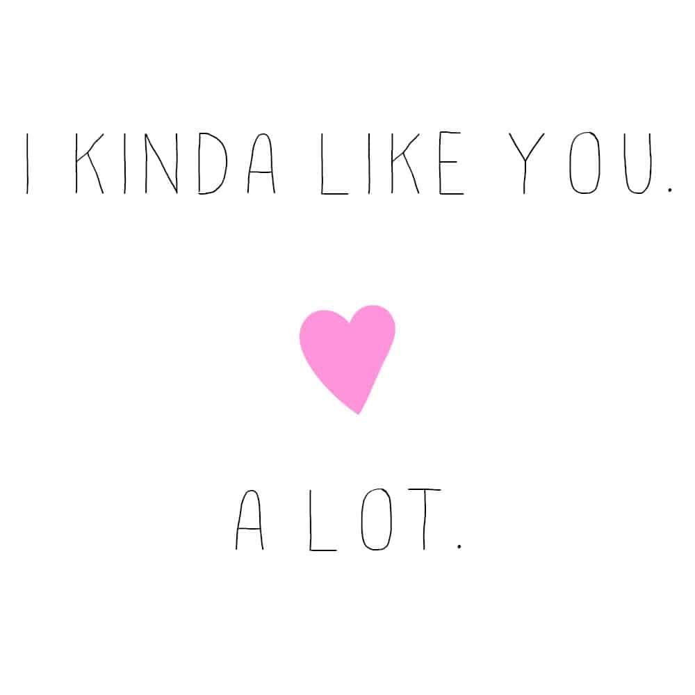 Like You A LotI Like You A Lot