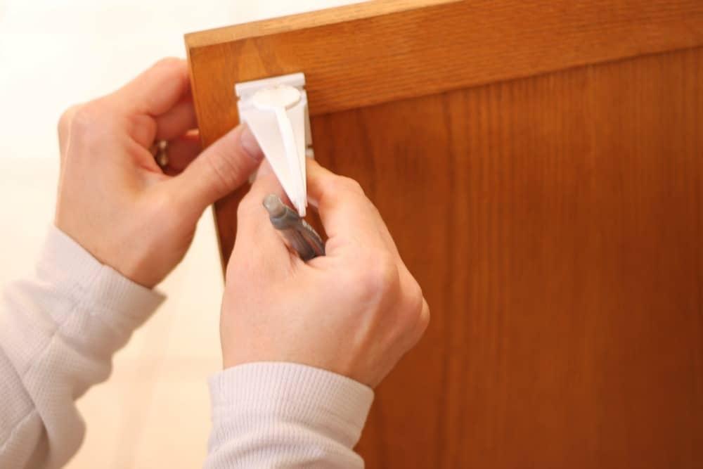 Installing KidCo Adhesive Locks