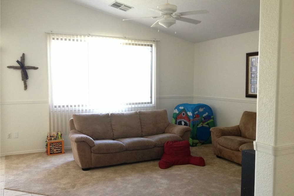 Rental House Family Room