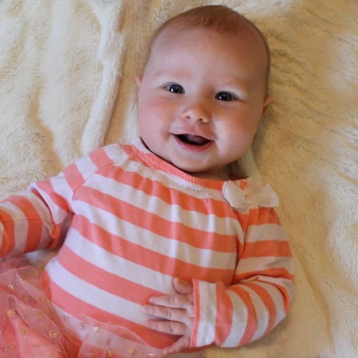 4 Months Maisie