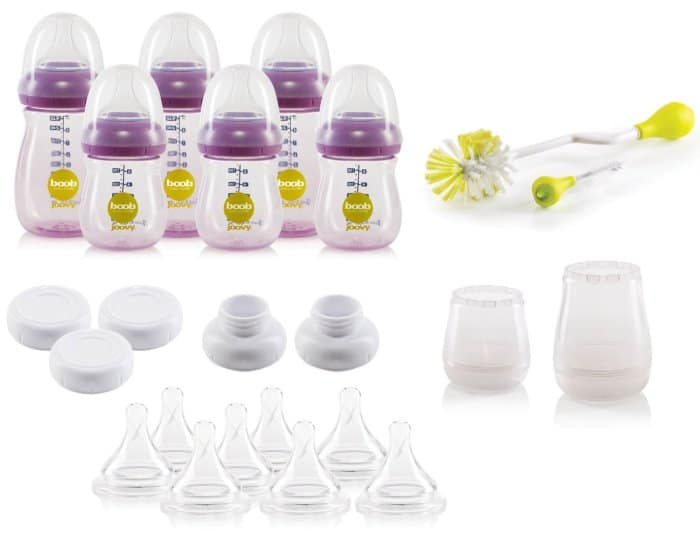Joovy Boob PP Baby Bottle Set