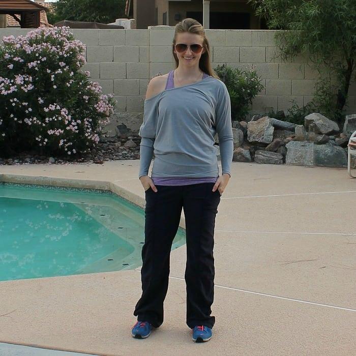Lucy Get Going Pant & Yoga Girl Long Sleeve