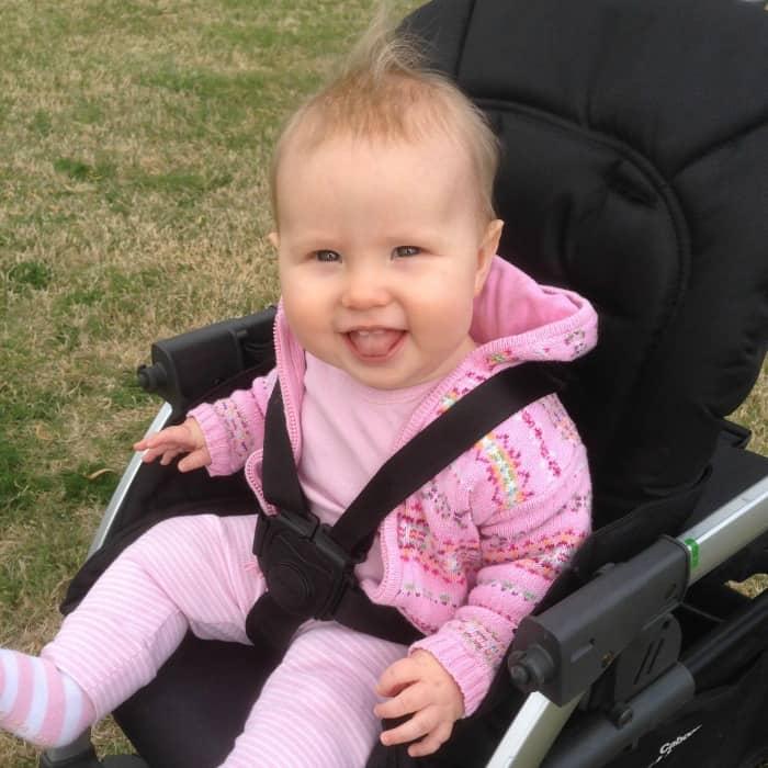 8 Months Maisie