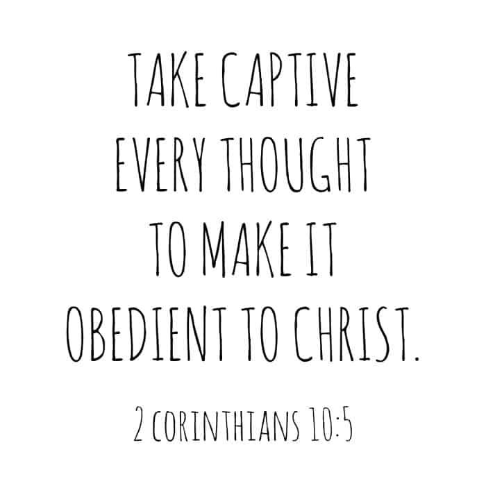 2 Corinthians Chapter 10 Verse 5