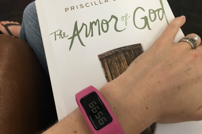 Armor of God Garmin's vívofit 2