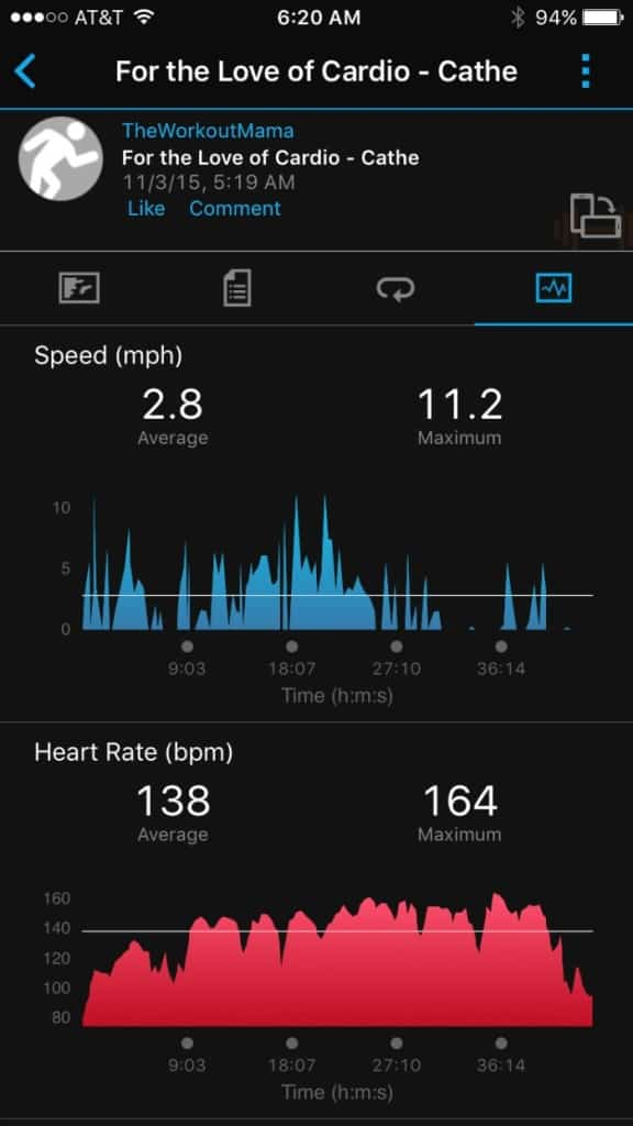 Garmin's vívofit 2 HR Screenshot