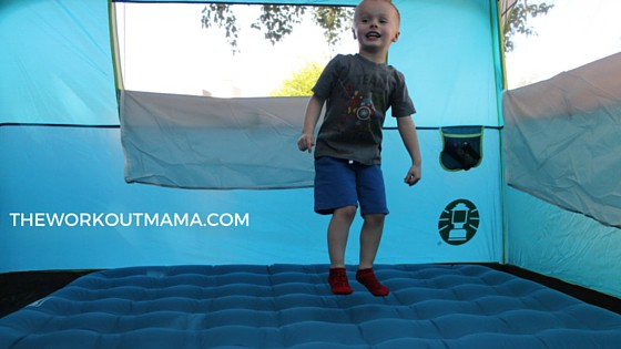 Jumping Air Mattress