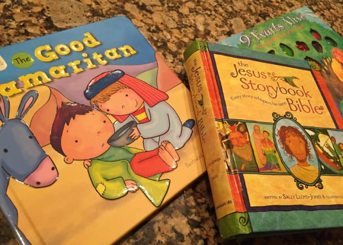 How We Do Family Devotions with a Toddler & Preschooler
